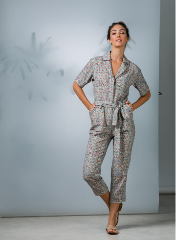 JUMPSUIT BAMBANG - Trousers & Jumpsuits - Vêtements Bio - Palem Brand