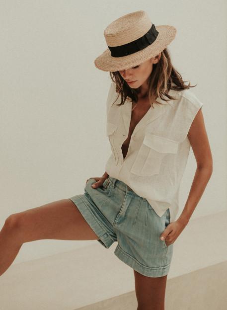 SHORT MARITHÉ - Jupes & shorts - Vêtements Bio - Palem Brand