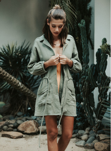 TUNIC LILO - Kimonos & Coats - Vêtements Bio - Palem Brand