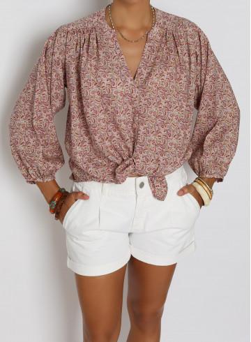 SHIRT MALIS - Tops - Vêtements Bio - Palem Brand