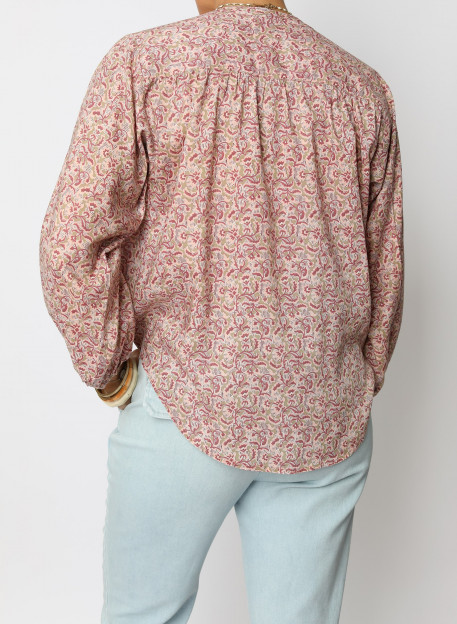 CHEMISE MALIS - Tops & chemises - Vêtements Bio - Palem Brand