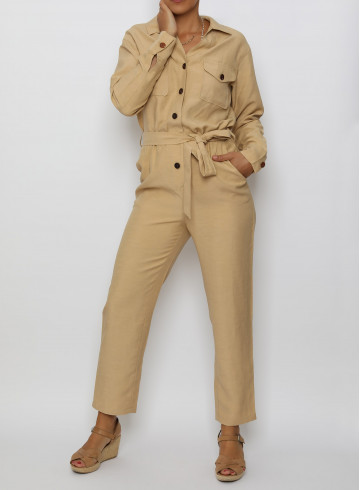 JUMPSUIT THIDA - Trousers & Jumpsuits - Vêtements Bio - Palem Brand
