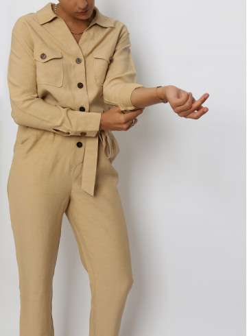 JUMPSUIT THIDA - Trousers & Jumpsuits - Vêtements Bio - Palem Brand