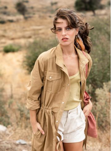 PARKA PAKA - Kimonos & Coats - Vêtements Bio - Palem Brand