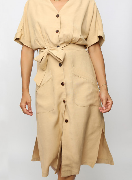 DRESS HINA - Home - Vêtements Bio - Palem Brand