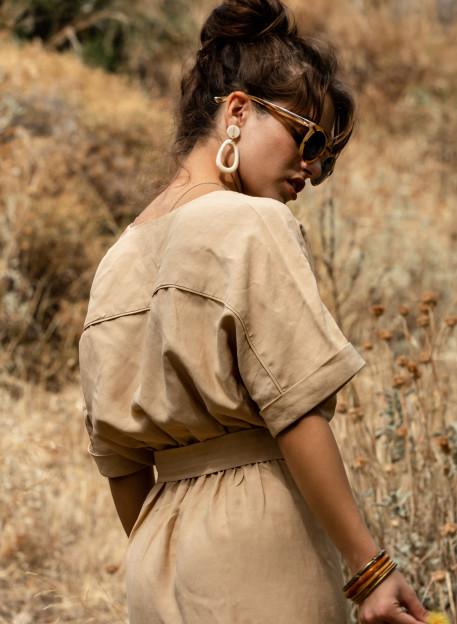 DRESS HINA - Beige