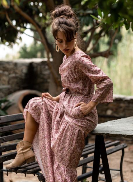 DRESS ALIKA - Dresses - Vêtements Bio - Palem Brand