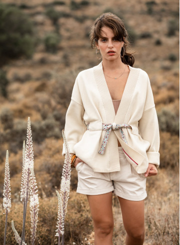 KIMONO TIKA - Kimonos & Coats - Vêtements Bio - Palem Brand