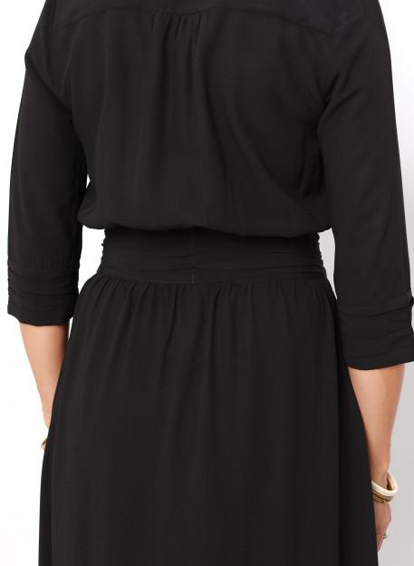 ROBE CAPRISO NOIRE - Robes - Vêtements Bio - Palem Brand