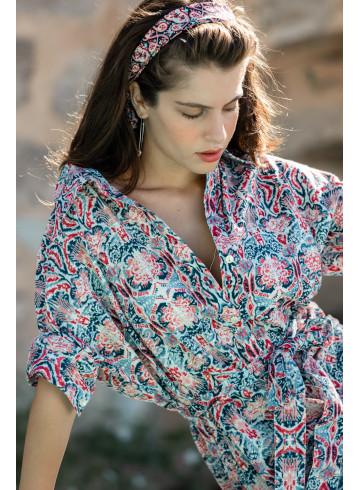 ROBE KAPIA - Robes - Vêtements Bio - Palem Brand