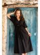 DRESS INDIRA - organic-ethical-cotton-dress - Vêtements Bio - Palem Brand