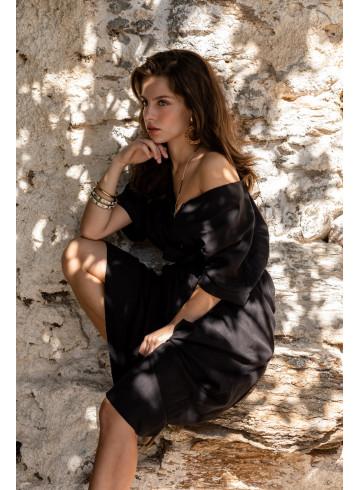 ROBE INDIRA - Robes - Vêtements Bio - Palem Brand