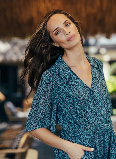 ROBE EDENA - Robes - Vêtements Bio - Palem Brand