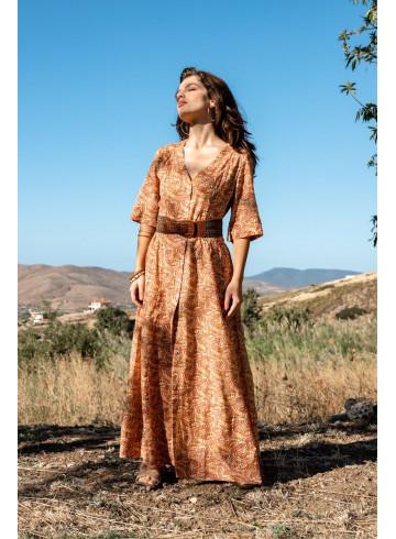 ROBE KOUBA - Accueil - Vêtements Bio - Palem Brand