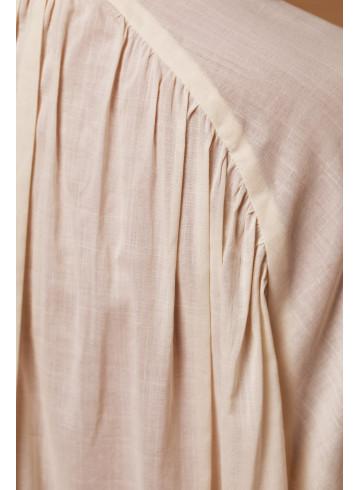 BLOUSE AFRINA ECRU - Home - Vêtements Bio - Palem Brand