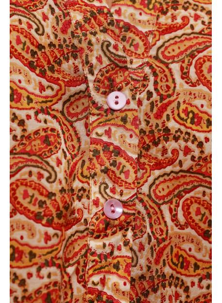 BLOUSE ALOMBA - Paisley Print