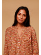 BLOUSE ALOMBA - organic-ethical-tops-shirts - Vêtements Bio - Palem Brand