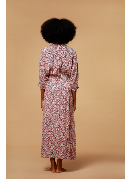 ROBE IMPRIMEE BAMOKA - Robes - Vêtements Bio - Palem Brand