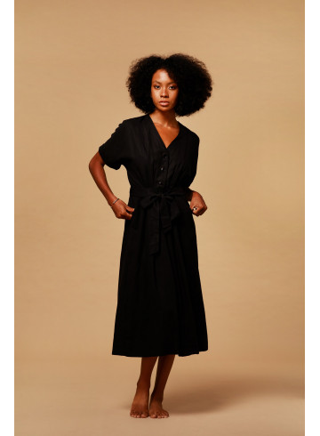 DRESS INDIRA - Dresses - Vêtements Bio - Palem Brand