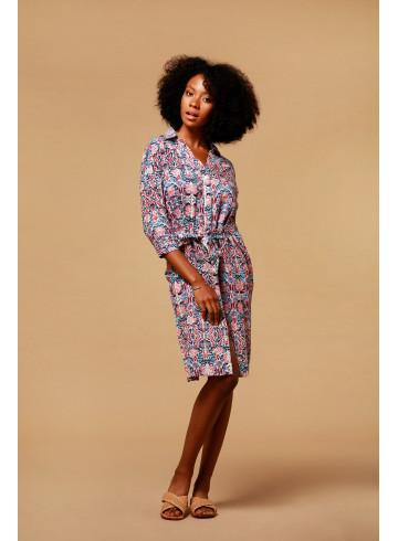 DRESS KAPIA - Dresses - Vêtements Bio - Palem Brand