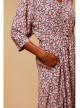ROBE IMPRIMEE BAMOKA - robe-coton-bio-ethique - Vêtements Bio - Palem Brand