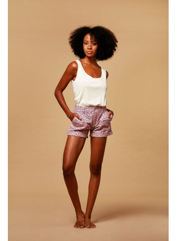 SHORT BALMY - IKAT - Jupes & Shorts - Vêtements Bio - Palem Brand
