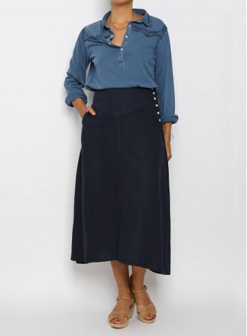BLOUSE SHEA - Tops - Vêtements Bio - Palem Brand