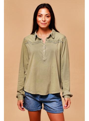 BLOUSE SHEA - Tops & chemises - Vêtements Bio - Palem Brand