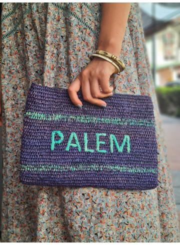 POCHETTE SCARLET - Bleu - Accessoires - Vêtements Bio - Palem Brand