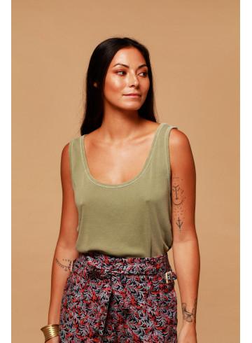 TANK TOP BELLYS - Tea - Tops - Vêtements Bio - Palem Brand