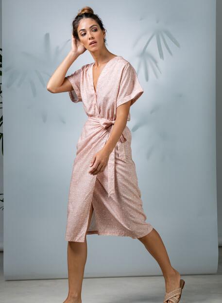 DRESS PEMALA - Dresses - Vêtements Bio - Palem Brand