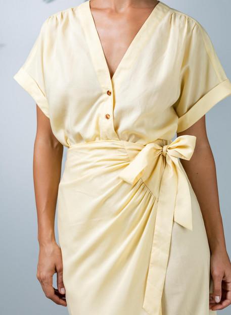 DRESS PEMALA - Yellow