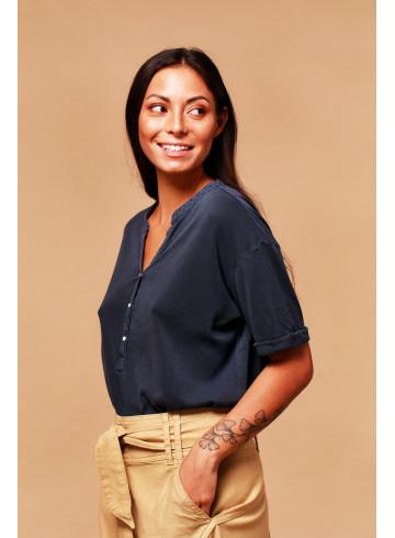 T-SHIRT PALAU - BLEU NAVY - Tops - Vêtements Bio - Palem Brand