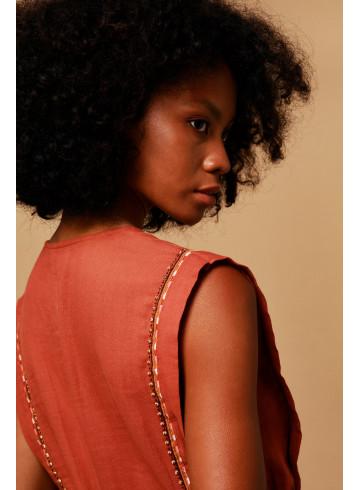 ROBE KARIBA - Robes - Vêtements Bio - Palem Brand