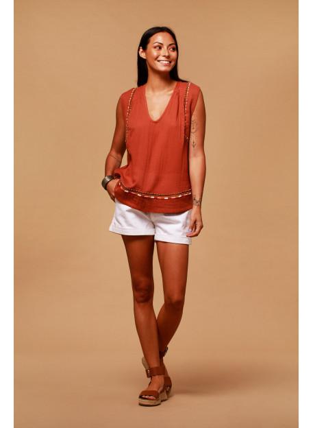 TOP PABLO - Tops - Vêtements Bio - Palem Brand