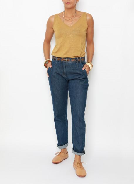 JEAN LULU - Trousers & Jumpsuits - Vêtements Bio - Palem Brand