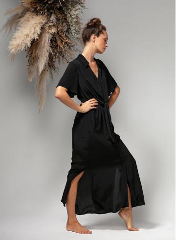 DRESS ONAE - BLACK - Dresses - Vêtements Bio - Palem Brand