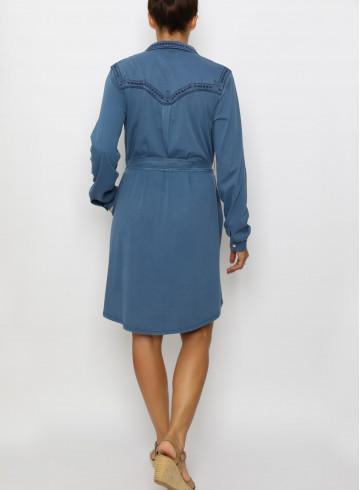DRESS MYA - Dresses - Vêtements Bio - Palem Brand