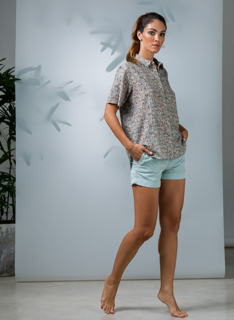 CHEMISE VIDA - Tops & chemises - Vêtements Bio - Palem Brand