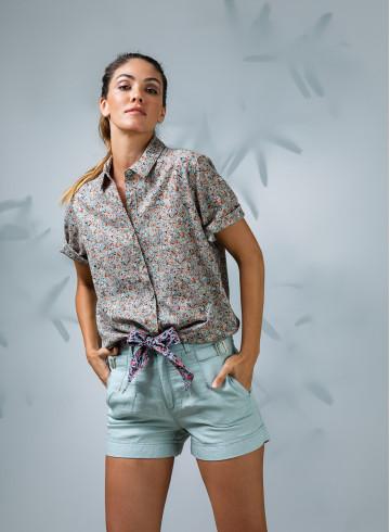 SHIRT VIDA - Tops - Vêtements Bio - Palem Brand