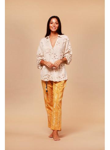 CHEMISE ANABEL - Tops & chemises - Vêtements Bio - Palem Brand