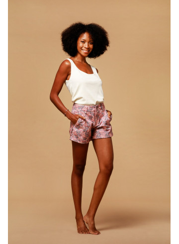DEBARDEUR BELLYS - Ecru - Tops & chemises - Vêtements Bio - Palem Brand