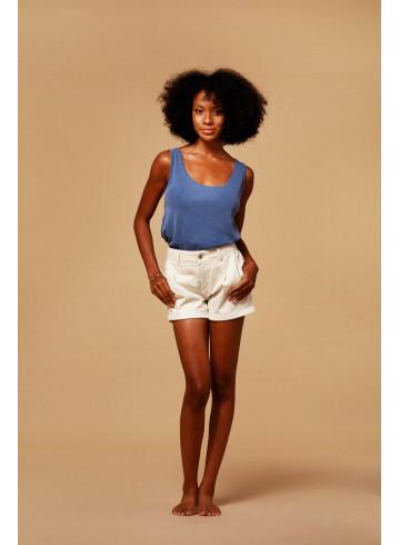 DEBARDEUR BELLYS - Indigo - Tops & chemises - Vêtements Bio - Palem Brand