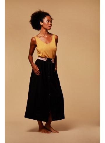JUPE FLOW - NOIR - Jupes & Shorts - Vêtements Bio - Palem Brand