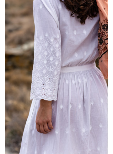 DRESS KLUANA - Dresses - Vêtements Bio - Palem Brand