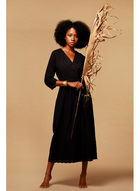 DRESS KLUANA - Black