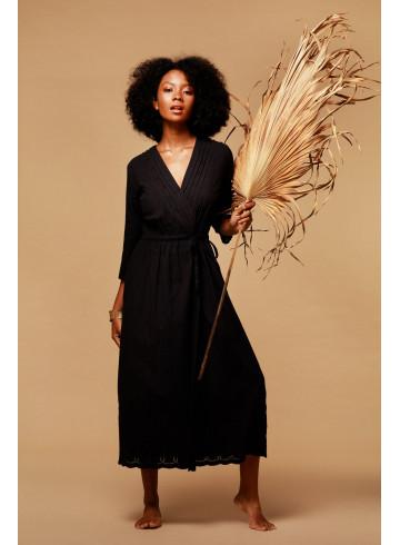 DRESS KLUANA - BLACK - Dresses - Vêtements Bio - Palem Brand