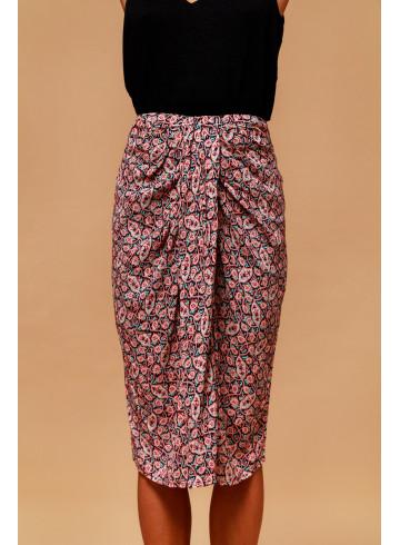 SKIRT ILDA - NUSA PENIDA PRINT - Skirts & Shorts - Vêtements Bio - Palem Brand