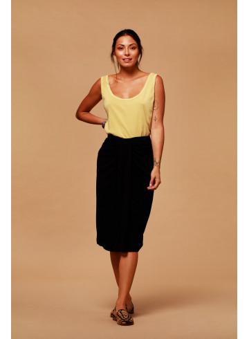SKIRT ILDA - BLACK - Skirts & Shorts - Vêtements Bio - Palem Brand