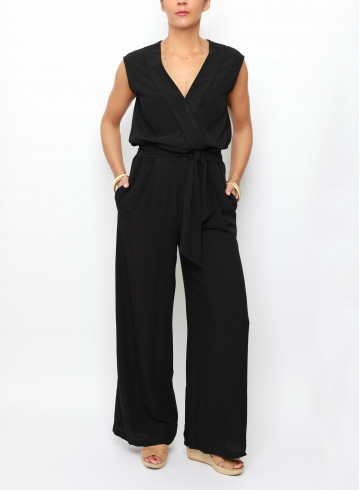 COMBINAISON ELENA - Noir - Pantalons & Combinaisons - Vêtements Bio - Palem Brand